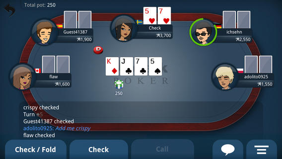5 card draw poker flash game